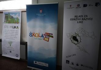 Projekt Steam Lika:obrazovanjem do održivog razvoja