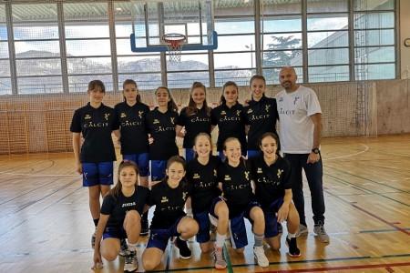 Mlađe kadetkinje ŽKK Gospić najmlađe su u ligi!