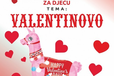 """Večeras u gospićkoj knjižnici radionica za djecu """"Valentinovo""""!"""
