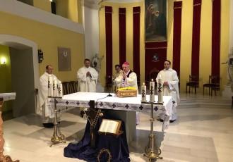 Biskup Križić na Blagovijest predvodio misu u katedrali