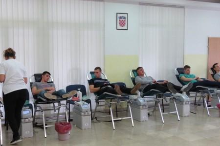 Prvog dana akcije darivanja krvi u Gospiću krv dale 64 osobe