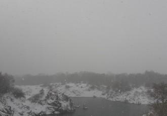 Snijeg, bura i minusi u Lici