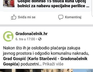 BRAVO: Potezi grada Gospića u krizi oko korona virusa prepoznati i izvan Gospića