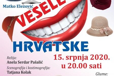 NE PROPUSTITE: Vesele žene Hrvatske- nova predstava gospićkog Amaterskog kazališta