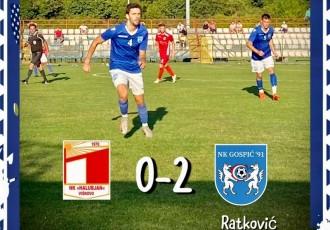 BRAVO: nogometaši Gospića 91 slavili kod Viškova 2:0!