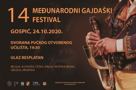 U Gospiću u subotu 24.listopada od 19:30 sati 14.međunarodni gajdaški festival