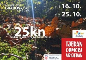 Otkrijte skrivene čari Pećinskog parka Grabovača po sniženim cijenama