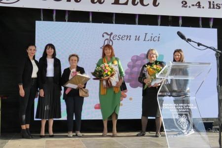 Kati Mihelčić Pavelić nagrada Zeleni cvijet za najuređeniju okućnicu u Gospiću