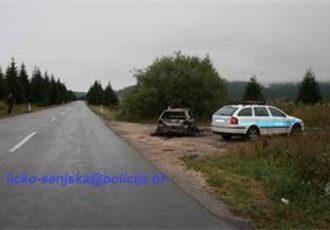 U Trnovcu pronađen zapaljeni automobil i nepoznato tijelo