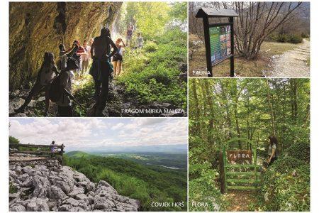 Nove brošure za još bolju promociju Pećinskog parka Grabovača