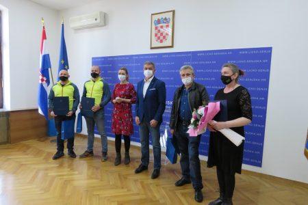 ČESTITAMO: Udruzi Baštinica, Igoru Naprti, te Stipi Piršljinu i Milanu Krznariću županijska priznanja za prošlu godinu