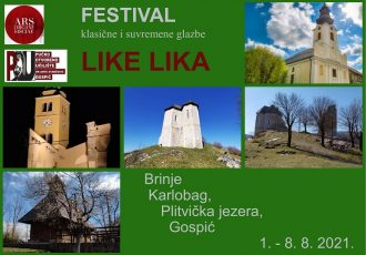 Početkom kolovoza ne propustite novi glazbeni festival Like Lika