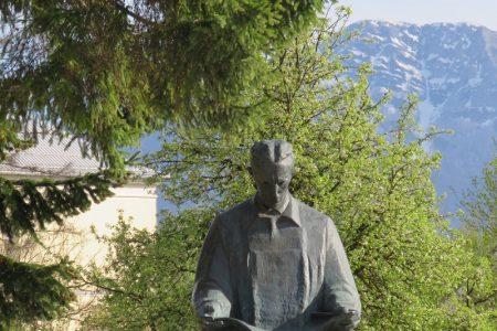 Svečanost povratka spomenika Nikole Tesle