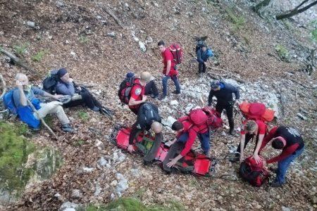 BRAVO: Gospićki gorski spašavatelji i ovaj vikend spašavali ljudske živote