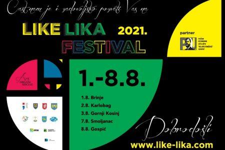 Koncertom u Brinju 1.kolovoza počinje veliki festival Like Lika