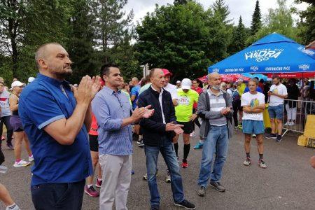 Održan je 36. Plitvički maraton.  Na otvorenju je nazočio župan Ernest Petry