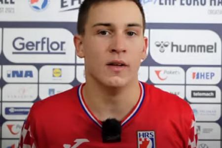 BRAVO: Senjanin Ivan Barbić osvojio europsko srebro s kadetskom reprezentacijom Hrvatske!!!