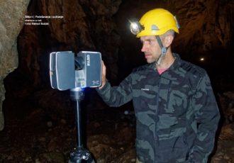 Probno lasersko snimanje spilje Samograd