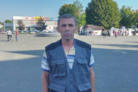 LIJEPO: Joso Hećimović, trkač na štakama, sutra trči maraton od Gospića do Karlobaga