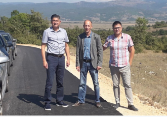 Župan Petry sa suradnicima obišao Udbinu
