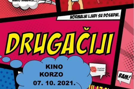 """Večeras u 18 sati u kinu Korzo pogledajte predstavu za tinejdžere  """"Drugačiji"""""""