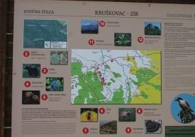 Poučna staza od Kruškovca prema Ziru 01