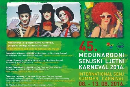Svi na Senjski ljetni karneval