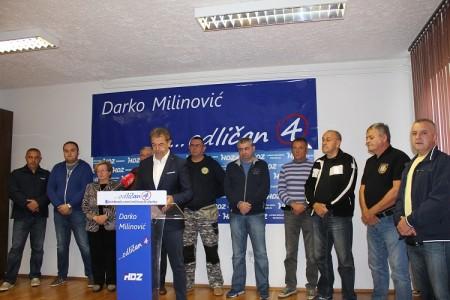 Braniteljske udruge jednoglasno uz Milinovića