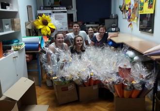 Društvo Naša djeca darivalo prvoškolce