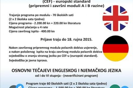 Brojne aktivnosti u gospićkom Pučkom otvorenom učilištu