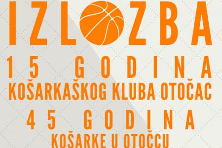 Izložba o povijesti košarke u Otočcu