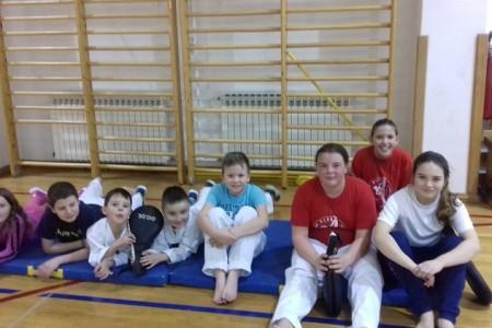 Upis članova u Taekwondo klub Lički Osik