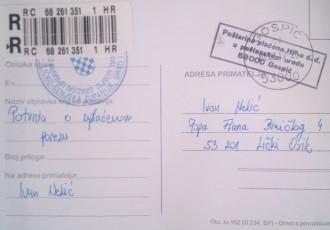 Osičke poštanske muke