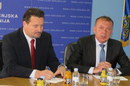 Ministar Kuščević donio skoro 2 milijuna kuna u Ličko-senjsku županiju