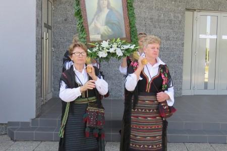 Vijenci, svijeće i riječi molitve zaslužnima za slobodan Gospić i Hrvatsku