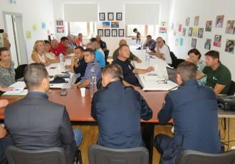 Izvanredna sjednica županijskog Stožera civilne zaštite