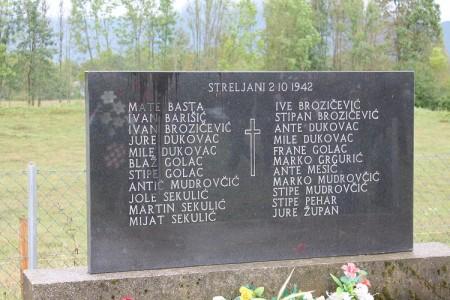 Sutra u Ribniku Dan sjećanja na poginule u Drugom svjetskom i u Domovinskom ratu