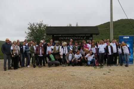 Klub volontera INA-e, Lička ekološka akcija i Pećinski park Grabovača zajedno u ekološko-društvenom događanju za ljepši i čišći okoliš