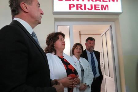 Nakon neuglednog šaltera gospićka Opća bolnica dobila novouređeni centralni prijem
