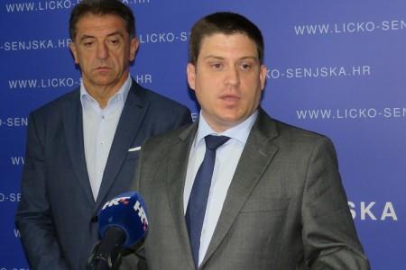 Ministar Butković i župan Milinović u Gospiću razgovarali o stotinama milijuna kuna ulaganja u cestovnu i željezničku infrastrukturu