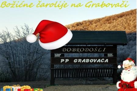 U subotu na Grabovači Božićna čarolija. Dolazi Djed Božičnjak, dođite i vi!!!