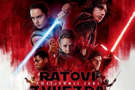 """Pogledajte u kinu Korzo film """"Ratovi zvijezda:posljednji Jedi"""""""