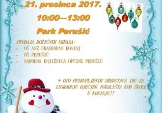 U četvrtak svi na Božićni sajam u Perušiću!!!