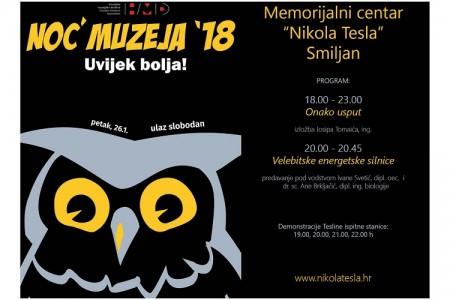 Noć muzeja u Gospiću i Smiljanu!