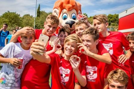 Prijavite se na nogometno natjecanje Coca-cola kup