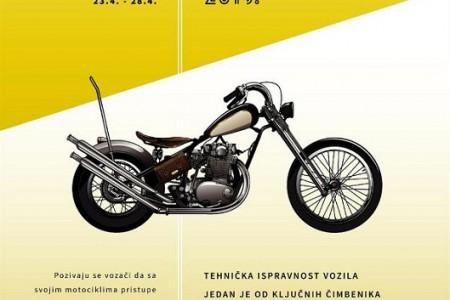 Ovaj tjedan besplatno provjerite tehničku ispravnost svojih motocikala