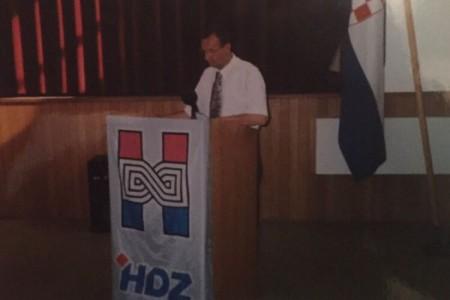 Na današnji dan prije 28 godina   osnovan gospićki HDZ