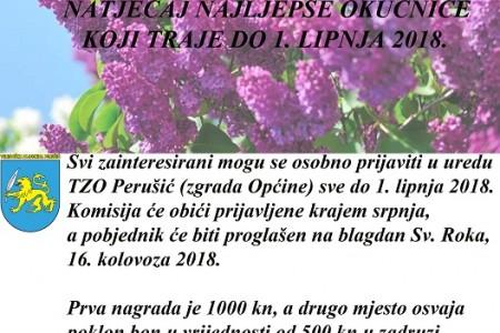 Izbor za najljepšu okućnicu u Perušiću