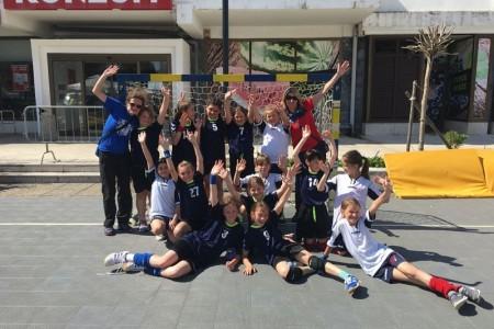 Mlade gospićke rukometašice treće na turniru u Novom Vinodolskom, Marta Šulentić uvrštena u najbolju ekipu!!!