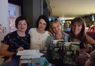 U book  cafe- u  Paradiso, okupljalištu ljubitelja dobre knjige i zabave,  održana još jedna zanimljiva književna večer